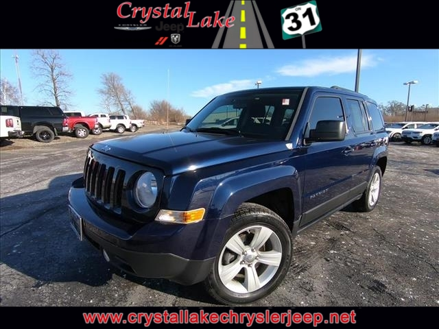 Certified Pre-Owned 2013 Jeep Patriot Latitude