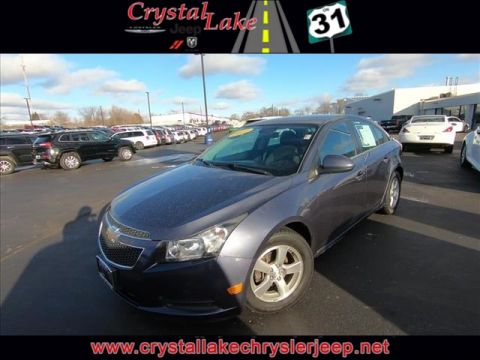 Pre-Owned 2013 Chevrolet Cruze LT w/1FL